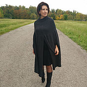 Одежда handmade. Livemaster - original item Ready Large sizes Cardigan Cape