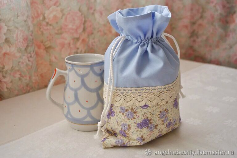 Bags for gifts: Blue/ lavender, Gift pouch, St. Petersburg,  Фото №1