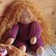 Ириска 33 см. Вальдорфская кукла.Julia Solarrain (SolarDolls) Ярмарка Мастеров