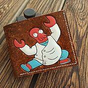 Сумки и аксессуары handmade. Livemaster - original item Handmade Wallet Meme Whoop Whooop Whoop. Handmade.