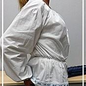 Одежда ручной работы. Ярмарка Мастеров - ручная работа Блузка льняная. Handmade.