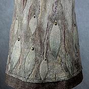 """Одежда ручной работы. Ярмарка Мастеров - ручная работа юбка валяная теплая """"Подледный лов"""". Handmade."""