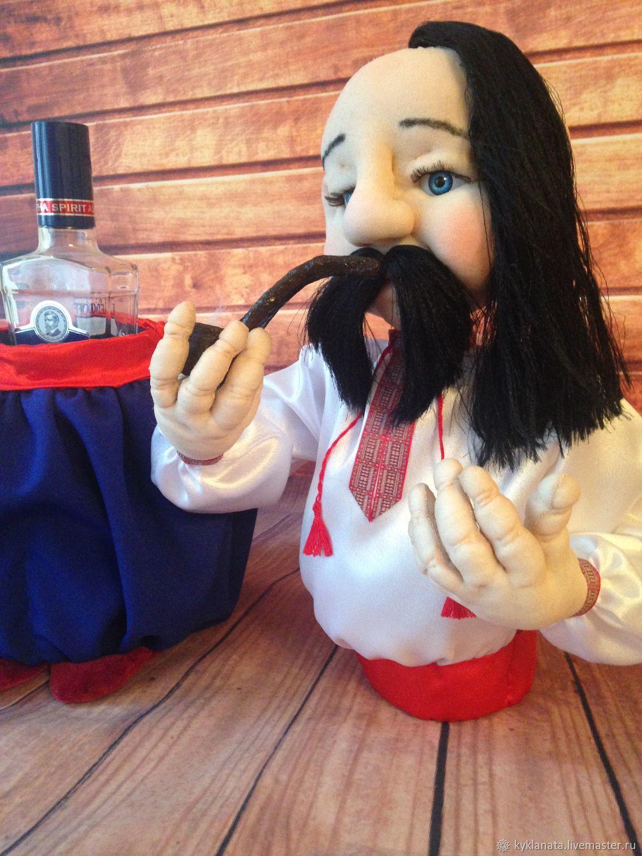 Doll mini-bar 'Hohol'-a STASH FOR BOTTLE, Fun, Chelyabinsk,  Фото №1
