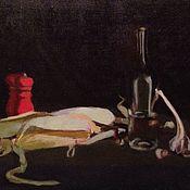 Картины ручной работы. Ярмарка Мастеров - ручная работа Натюрморт с кукурузой. Handmade.