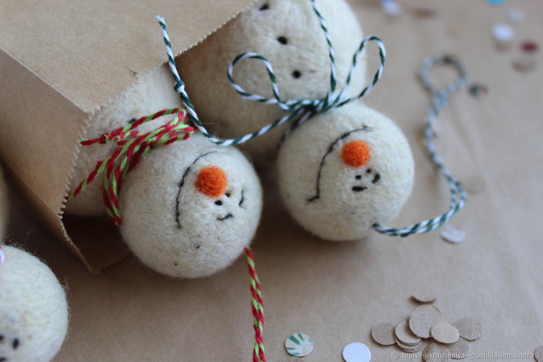 Снеговик, Мягкие игрушки, Сольцы,  Фото №1