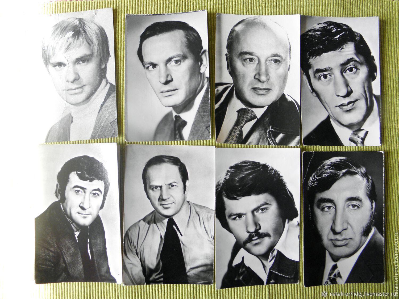 открытки ссср с артистами меню, поиском