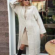 Одежда handmade. Livemaster - original item coat: Autumn melody half-hair handmade. Handmade.