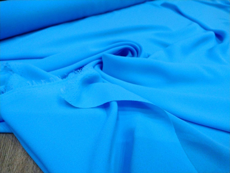Купить Голубую Ткань Для Платья