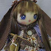 Куклы и игрушки ручной работы. Ярмарка Мастеров - ручная работа Зая, сирень и шоколад. Handmade.
