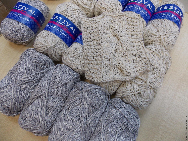 Фото из ручного вязания