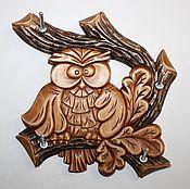 """Для дома и интерьера ручной работы. Ярмарка Мастеров - ручная работа Ключница """"Совушка"""". Handmade."""