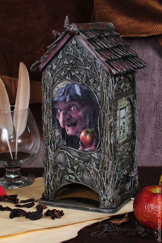 """Кухня ручной работы. Ярмарка Мастеров - ручная работа. Купить Чайный домик """"Баба Яга на все времена!"""". Handmade. Чайный домик"""