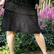 Одежда ручной работы. Ярмарка Мастеров - ручная работа Юбка из хлопка. Handmade.