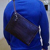 Сумки и аксессуары handmade. Livemaster - original item Folder leather 183 m. Handmade.