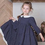 Платье ручной работы. Ярмарка Мастеров - ручная работа Платье для девочки Горошек. Handmade.