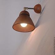 Для дома и интерьера ручной работы. Ярмарка Мастеров - ручная работа Настенный керамический светильник (бра) «Колокольчик». Handmade.