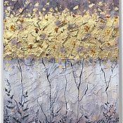 Картины ручной работы. Ярмарка Мастеров - ручная работа Картина «Янтарная россыпь». Handmade.