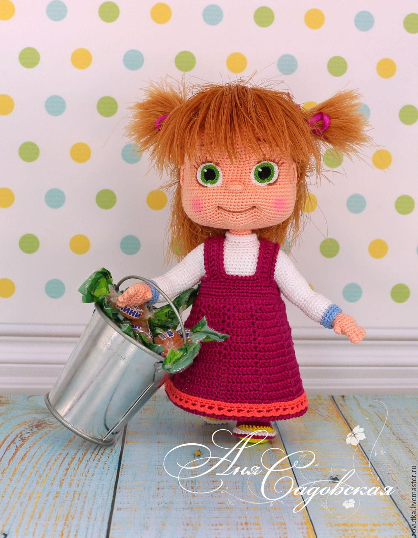 Вязание крючком игрушки кукла схемы и описание 774