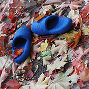 Slippers handmade. Livemaster - original item Felt Slippers