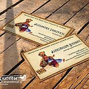 Материалы для творчества ручной работы. Ярмарка Мастеров - ручная работа Распечатка бирок, визиток. Handmade.