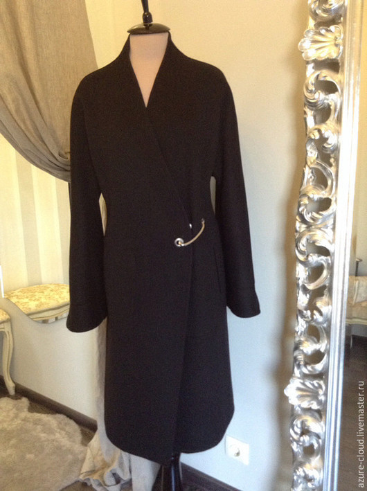 Верхняя одежда ручной работы. Ярмарка Мастеров - ручная работа. Купить Пальто из кашемира. Handmade. Разноцветный, пальто, пальто демисезонное