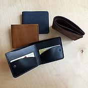 Сумки и аксессуары handmade. Livemaster - original item The wallet is compact. Handmade.