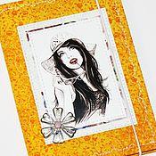 Обложки ручной работы. Ярмарка Мастеров - ручная работа Обложка на Паспорт ручной работы, из хлопка. Handmade.