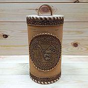 Для дома и интерьера handmade. Livemaster - original item Bank from a birch bark Tomsk - Protein. Jar from Siberia. Souvenir. Handmade.