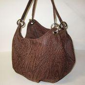 Сумки и аксессуары handmade. Livemaster - original item The bag is soft, airy. Genuine leather.. Handmade.