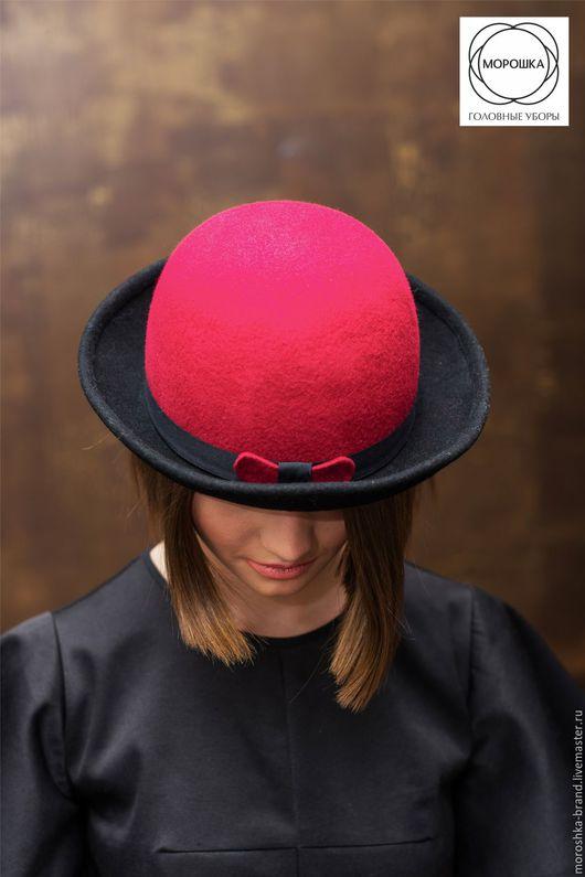"""Шляпы ручной работы. Ярмарка Мастеров - ручная работа. Купить Шляпа """"Котелок"""". Handmade. Комбинированный, Котелок, бохо-стиль"""