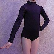 Одежда ручной работы. Ярмарка Мастеров - ручная работа Боди  для фигурного катания для девочки. Handmade.