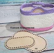 Материалы для творчества handmade. Livemaster - original item the bottoms of baskets to the bottom of the tree. Handmade.