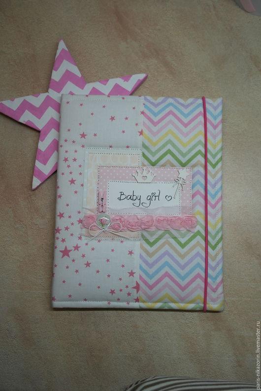 папка для свидетельство о рождении для маленькой принцессы
