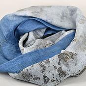 Scarves handmade. Livemaster - original item Linen Snood