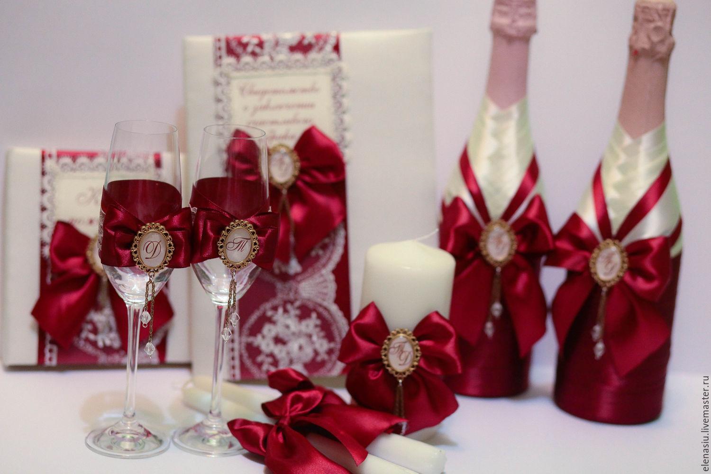 Бокалы для шампанского на свадьбу своими руками 134