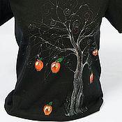"""Одежда ручной работы. Ярмарка Мастеров - ручная работа Футболка """"Яблоня"""". Handmade."""