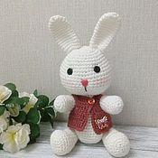 Куклы и игрушки handmade. Livemaster - original item Knitted Bunny. Handmade.