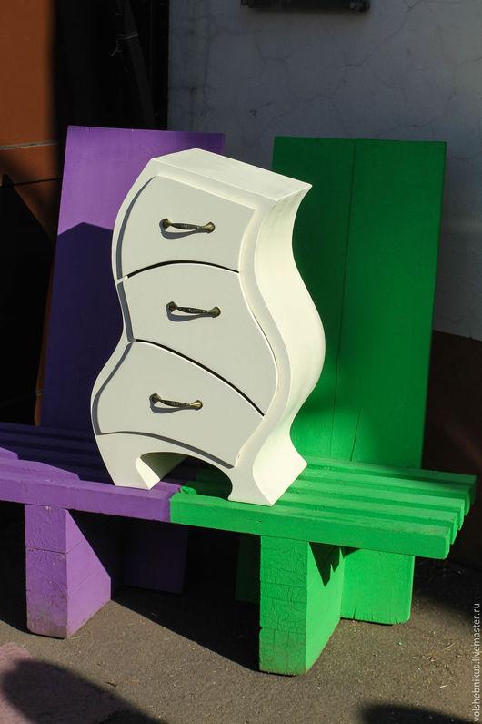 """Мебель ручной работы. Ярмарка Мастеров - ручная работа. Купить Комод """"Ромео"""". Handmade. Белый, детская комната, подарок, креатив"""