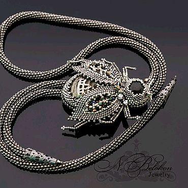Decorations handmade. Livemaster - original item The Bolo Tie Beetle. the choice. Handmade.