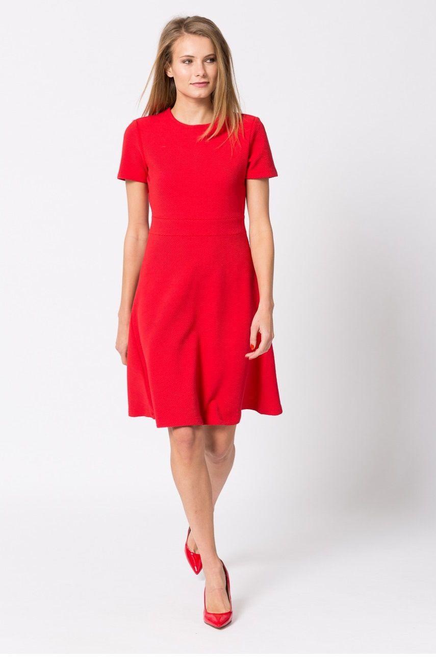 Платье красное на каждый день