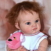 Куклы и игрушки ручной работы. Ярмарка Мастеров - ручная работа кукла реборн Пуговка. Handmade.