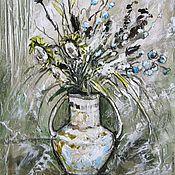 """Картины и панно ручной работы. Ярмарка Мастеров - ручная работа """"Прованс"""" рельефная картина. Handmade."""