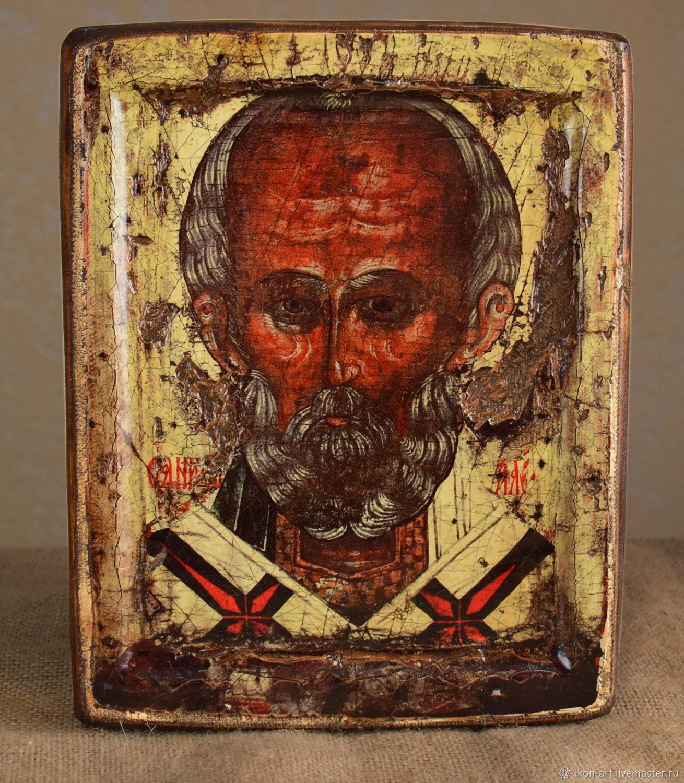 Икона святого Николая. Угрешская, Иконы, Симферополь,  Фото №1