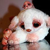 Куклы и игрушки ручной работы. Ярмарка Мастеров - ручная работа Треххвостая мама и ее малыши породы Виксен. Handmade.