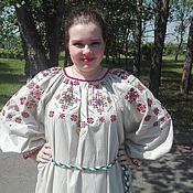Одежда ручной работы. Ярмарка Мастеров - ручная работа Концертная рубаха. Сценический костюм с оригинальной вышивкой.. Handmade.
