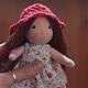 Вальдорфская игрушка ручной работы. Мелисса 14.5 см .Julia Solarrain (SolarDolls). Ярмарка Мастеров.