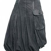 Одежда ручной работы. Ярмарка Мастеров - ручная работа Зимняя юбка -баллон на хб подкладе.. Handmade.