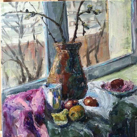 Картина `Пасха`.  Холст, масло. 2015