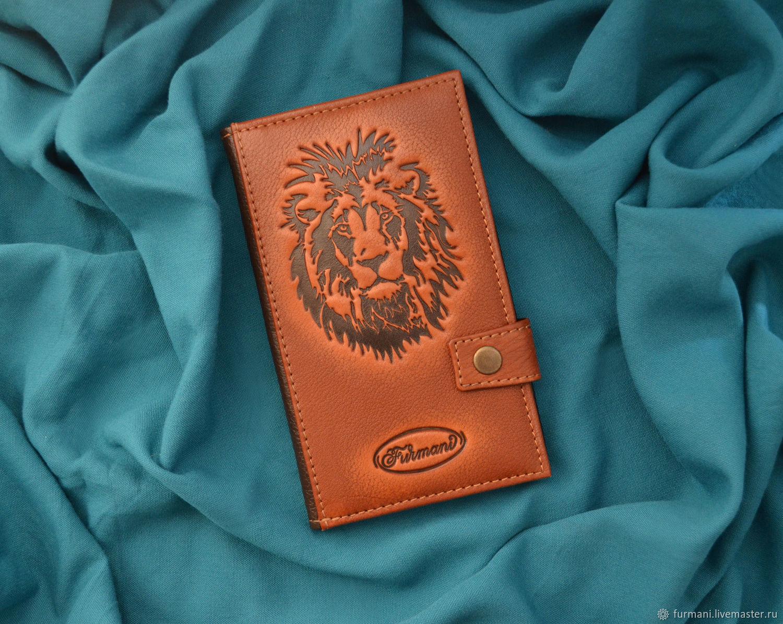 "Leather wallet ""LION"", Wallets, Krivoy Rog,  Фото №1"