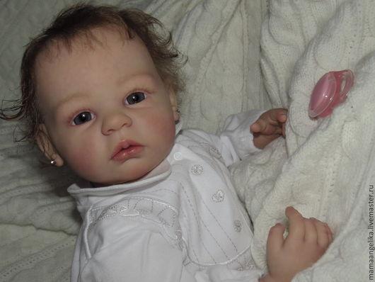 Куклы-младенцы и reborn ручной работы. Ярмарка Мастеров - ручная работа. Купить кукла реборн Настенька. Handmade. Реборн, бежевый